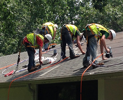 Demolition (DMO) vs Roofing (RFG) | Academy Roofing | Commercial and