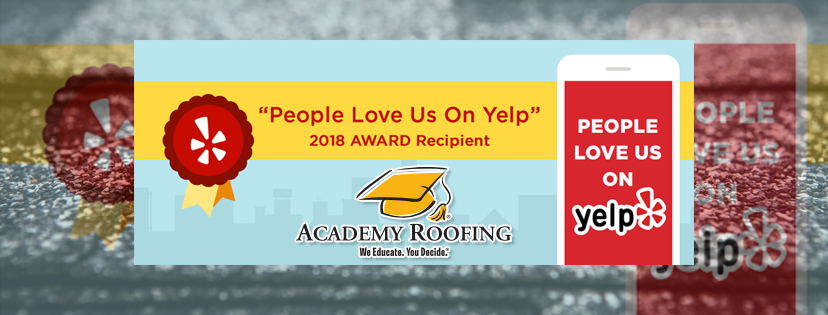 2018 Yelp Award Winner Academy Roofing Commercial And Residential Roofing Contractor And Repair Company In Atlanta